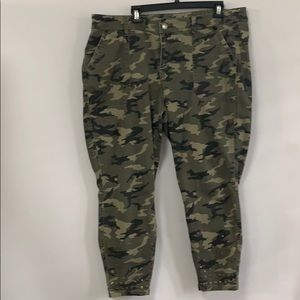 LANE BRYANT ARMY COLOR PANTS Size 20P